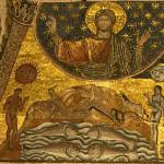 In principio Dio creò i cieli e la terra
