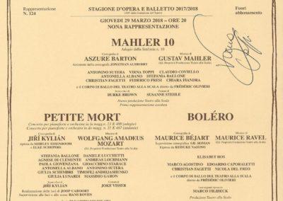 Intervista alla prima ballerina del Teatro alla Scala Virna Toppi