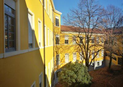 Facciata interna del Liceo
