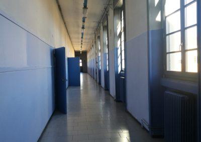 Corridoio del Liceo Boccioni