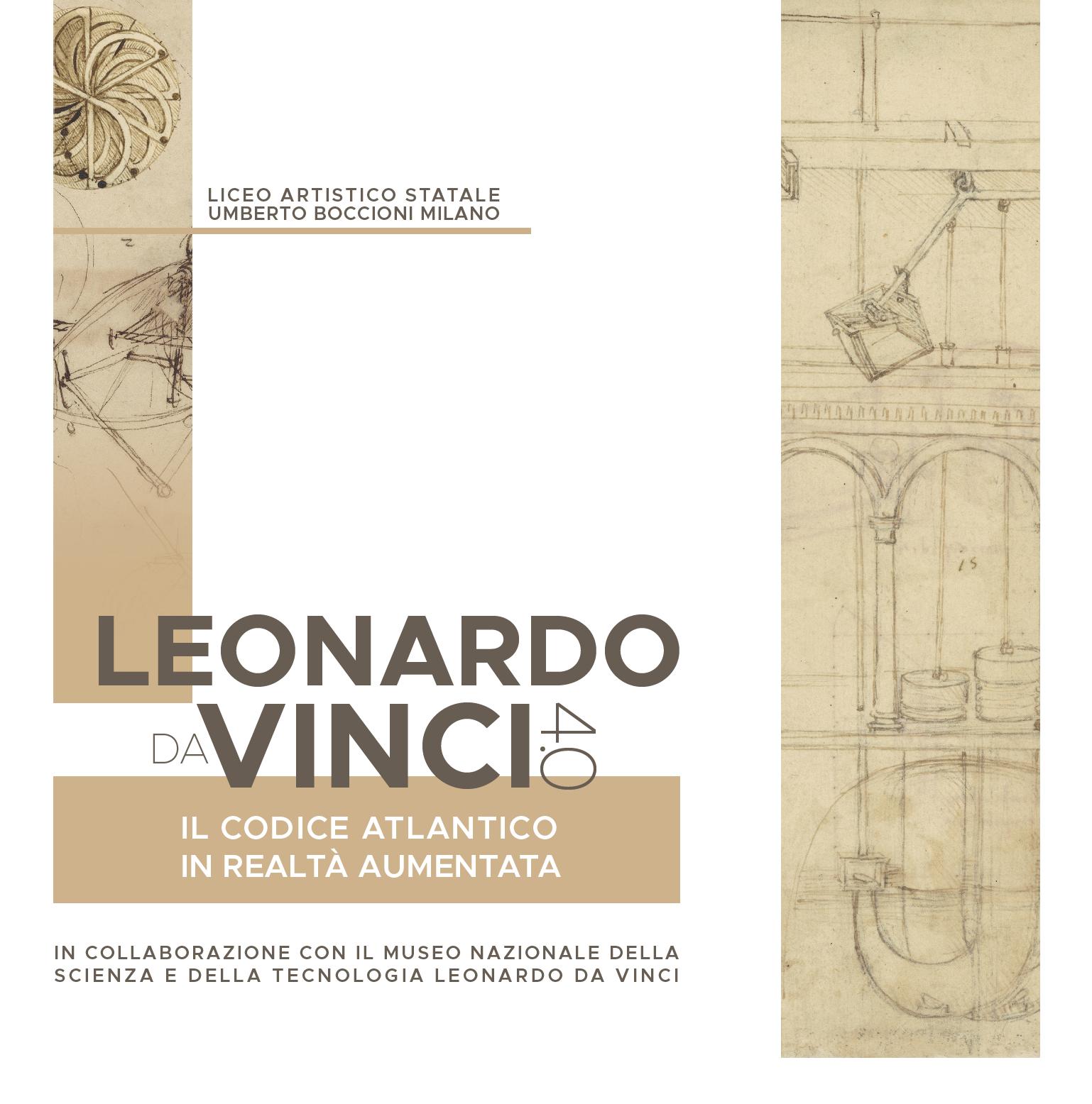 Copertina Leonardo Da Vinci 4.0
