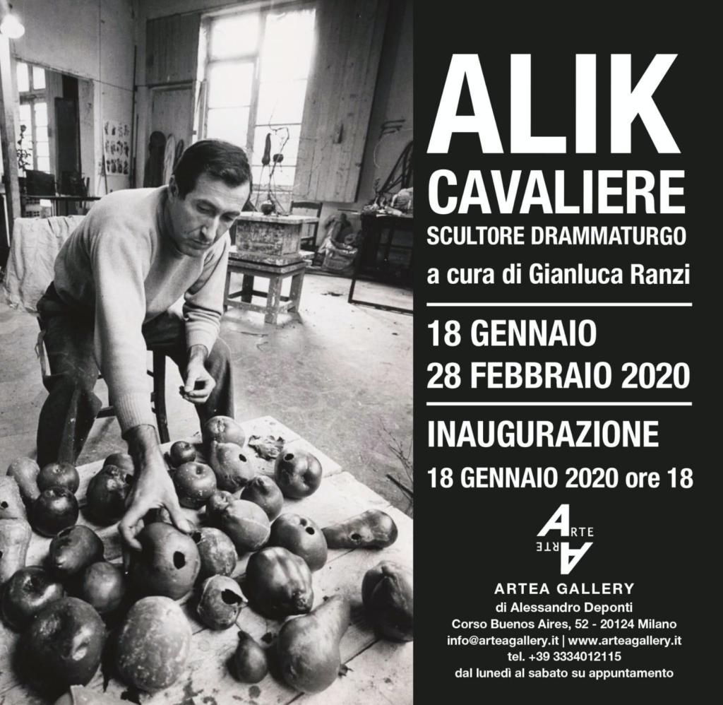 Alik Cavaliere scultore drammaturgo