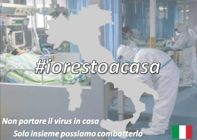 Manifesto per #iorestoacasa
